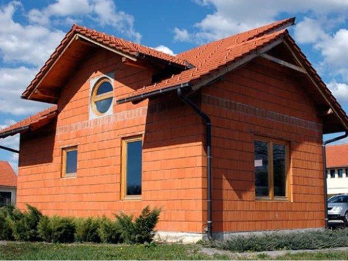 Дом из теплой керамики