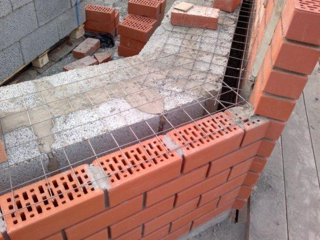 Кладка стен и арок