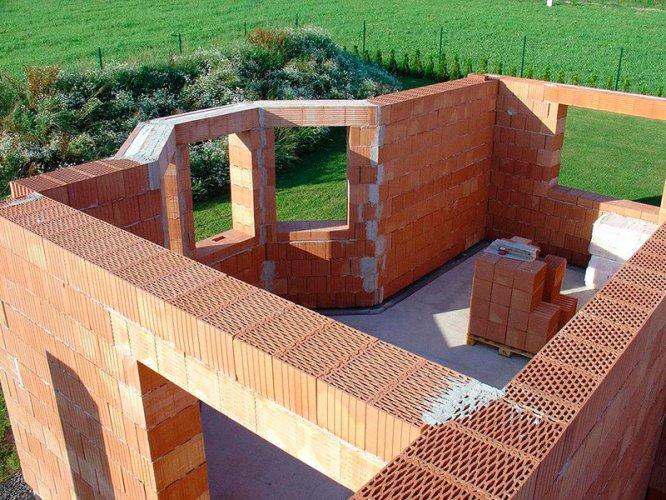 Проект кирпичного дома своими руками 612